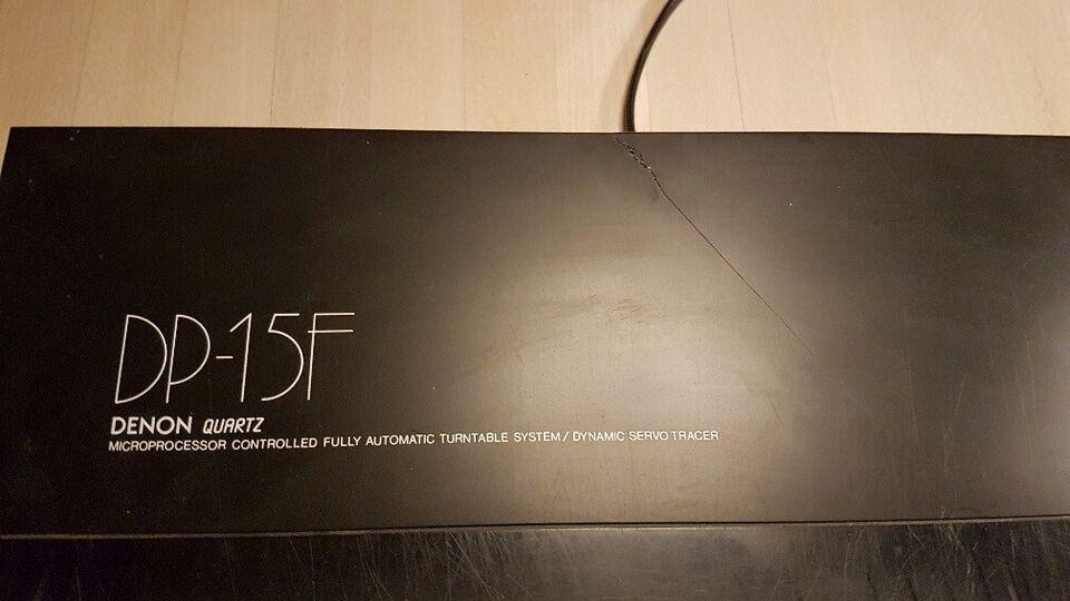 Stereoanlæg , Denon, DP-15F og PMA-480R