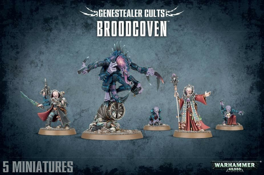 Genestealer Cults Broodcoven Workshop Warhammer 40000 Tyranids 51-50 Patriarch