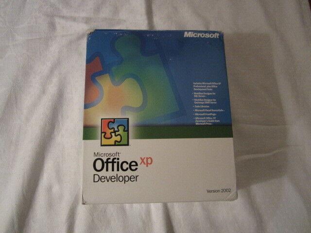 Microsoft Office XP Developer (Retail) (1 User/s) - Full Version for Windows...