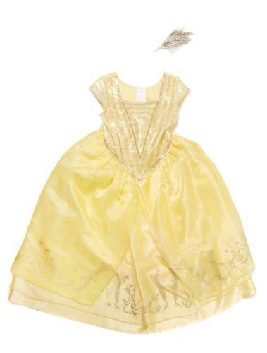Disney Beauty /& Beast Princess Belle fancy dress Girls Book Week 3-4 5-6 7-8yrs