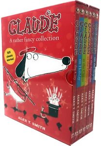 Claude-Series-Collection-6-Books-Set-Alex-T-Smith-Claude-in-the-City-Country