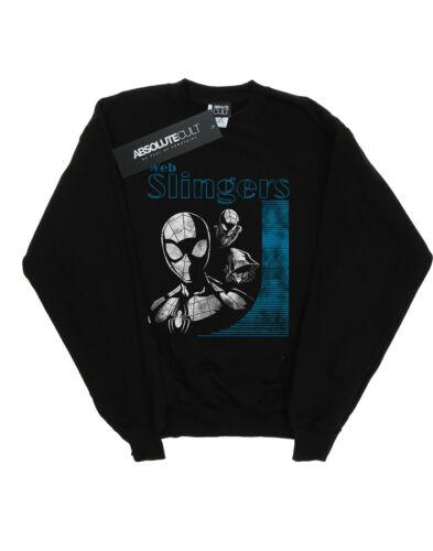 Marvel Uomo Slingers Felpa man Web Spider xnxRv