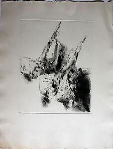 Roland Dörfler-PERSONAGGI I. mano con firma acquaforte da gessetti arte-Edition.