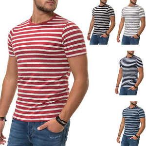 Jack-amp-Jones-T-Shirt-Hommes-Manches-Courtes-Shirt-Shirt-Print-O-Neck-Top-Color-Mix-SALE
