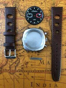 Uhrenkit-Retro-TRADITION-Chronograph-fuerETA-Valjoux-7733-SWISS-MADE-Uhrengehaeuse