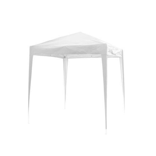 2x2m White Gazebo Marquee Pop Up Canopy Waterproof Outdoor Garden Party Tent