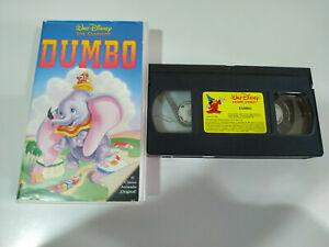 Dumbo-Los-Clasicos-de-Walt-Disney-VHS-CINTA-TAPE-ESPANA