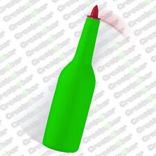 Shatterproof Flair Pratice Bottle - Bar Pub Flairing / Juggling Bottle - Green