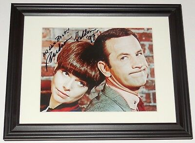 - Get Smart To Make One Feel At Ease And Energetic Barbara Feldon Autographed 8x10 Color Photo framed & Matted