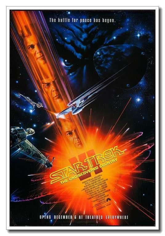USS Enterprise Blueprint Star Trek Beyond Movie Silk Poster 13x20 24x36inch