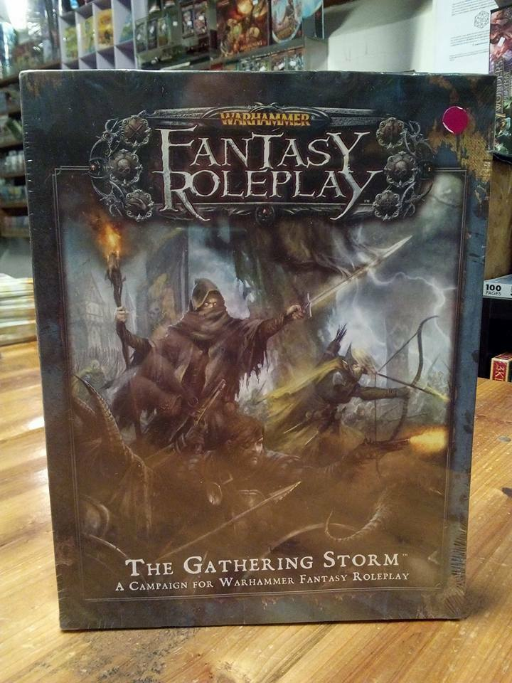 Warhammer Fantasy Roleplay The Gathering Storm Brand New Shrinkwrap
