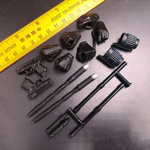 """Hot Toys 1//6 Scale Black Widow 5.0 Weapon /& Hands Model for 12/"""" Action Figure"""