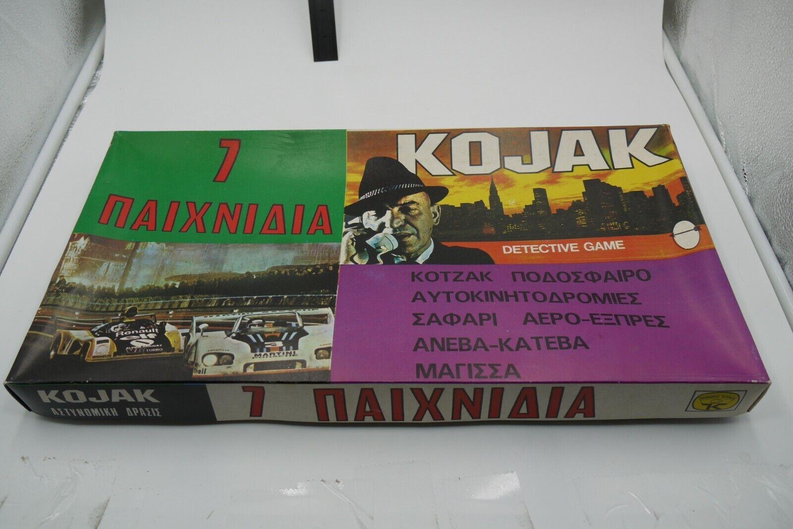 VINTAGE 70'S 7 giocoS  COLLECTION GREEK tavola gioco KOLIOPOYLOS completare  negozio online