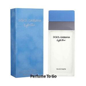 DOLCE-amp-GABBANA-LIGHT-BLUE-for-Women-D-amp-G-3-4-oz-100-ml-EDT-Spray-Sealed