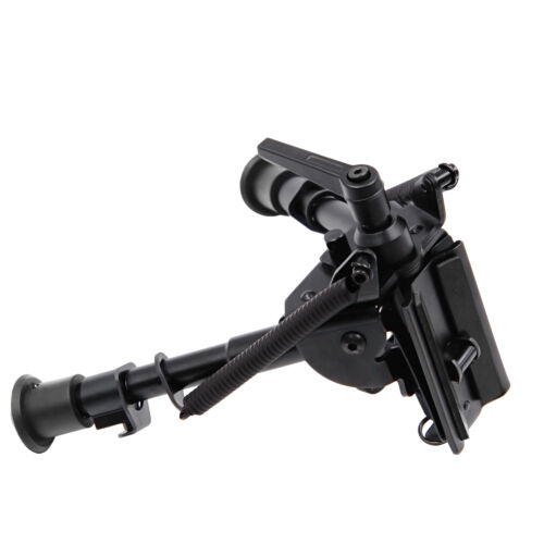 "Pivot//Rotating Spring Return 6/""-9/"" Harris style Bipod/&Swivel Lock for Rifle"