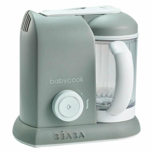 Beaba BabyCook 4 in 1 baby Food Processor Steam Cook Blend Grey Warehouse