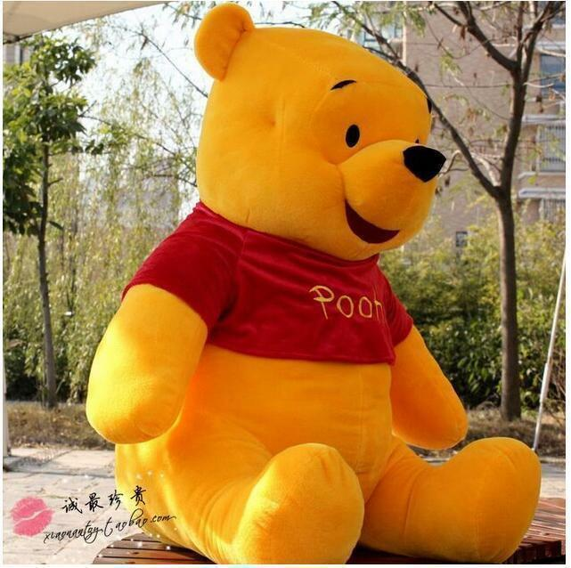 SW Big Winnie The Puh Bear Stuffing djur Plush leksak Giant Doll Xmas Kid 100cm