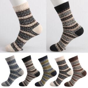 Men-039-s-Winter-Warm-Rabbit-Wool-Socks-Thick-Soft-Hosiery-Boot-Sox-Socks