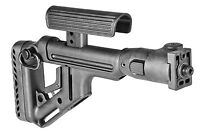 Uas Vz P Fab Defense Folding Polymer Buttstock W/ Cheek Piece For Vz 58
