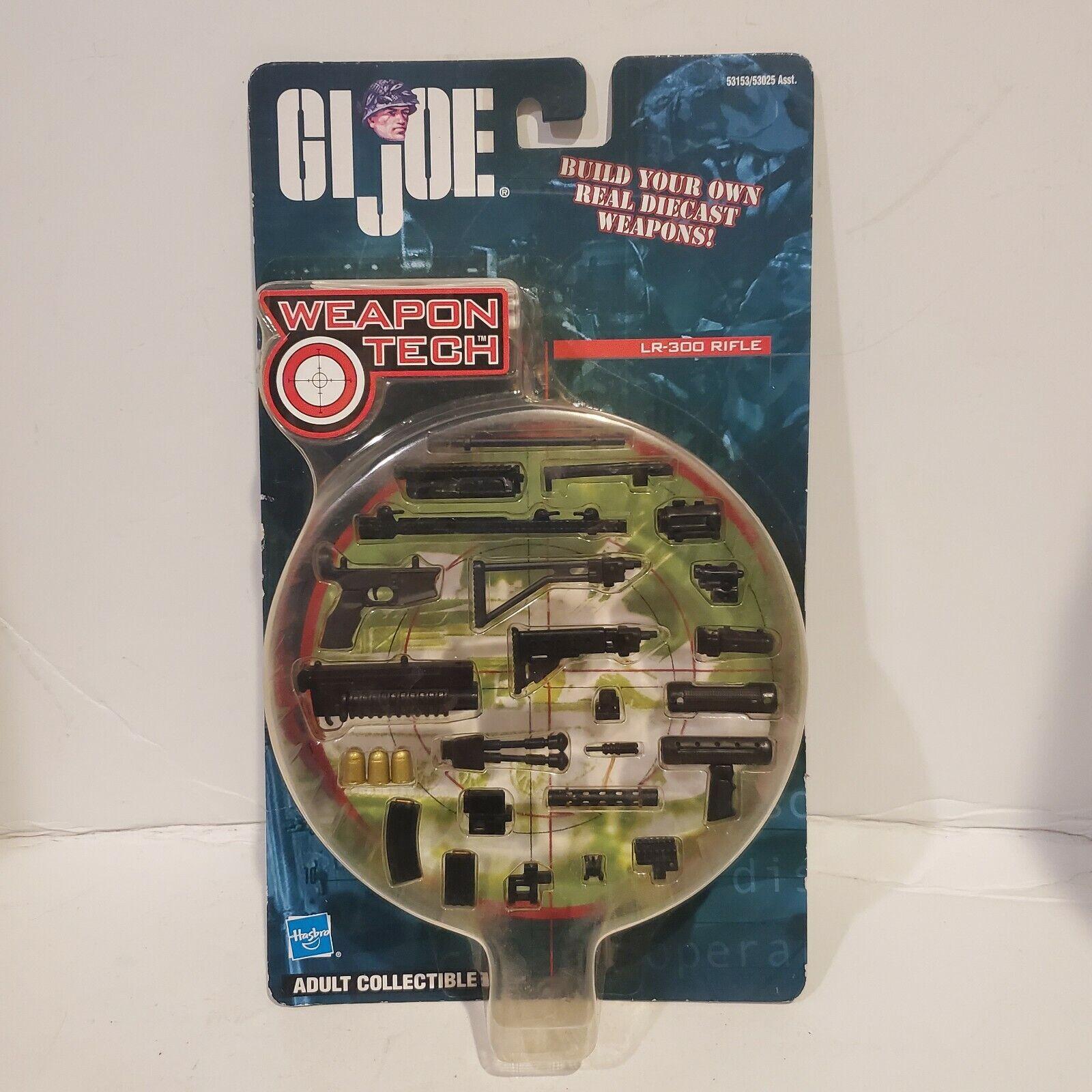NEW RARE /& HTF 2002 Hasbro GI Joe Accessories WEAPON TECH LR-300 RIFLE PACK