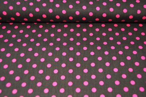 Punkte Tupfen Stoff 100 /% Baumwolle Stoffe Patchwork Deko Bekleidung 1502221