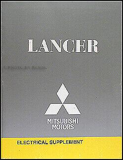[SCHEMATICS_43NM]  2008 Mitsubishi Lancer Wiring Diagram Book Electrical Service Manual | eBay | 2015 Mitsubishi Lancer Wiring Diagram |  | eBay