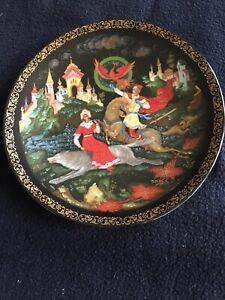 RUSSIAN-PLATE-PRINCESS-ELENA-AND-IVAN-THE-LEGEND-OF-THE-FIREBIRD-3852