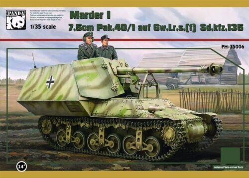 "Panda Hobby PDA35006 1//35 German /""Marder I/"" PAK 40//1 7.5C"