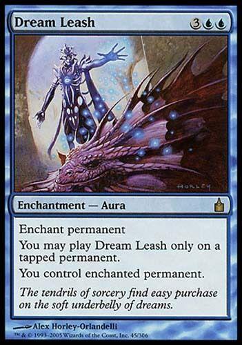 1x Dream Leash Ravnica MtG Magic Blue Rare 1 x1 Card Cards
