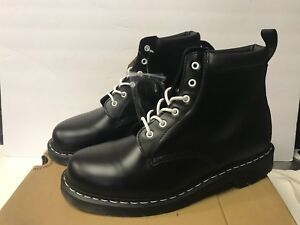 0925f0e9f80 Details about Dr. Martens Men's 14 939 6-Eye Padded Collar Boot Black Smooth