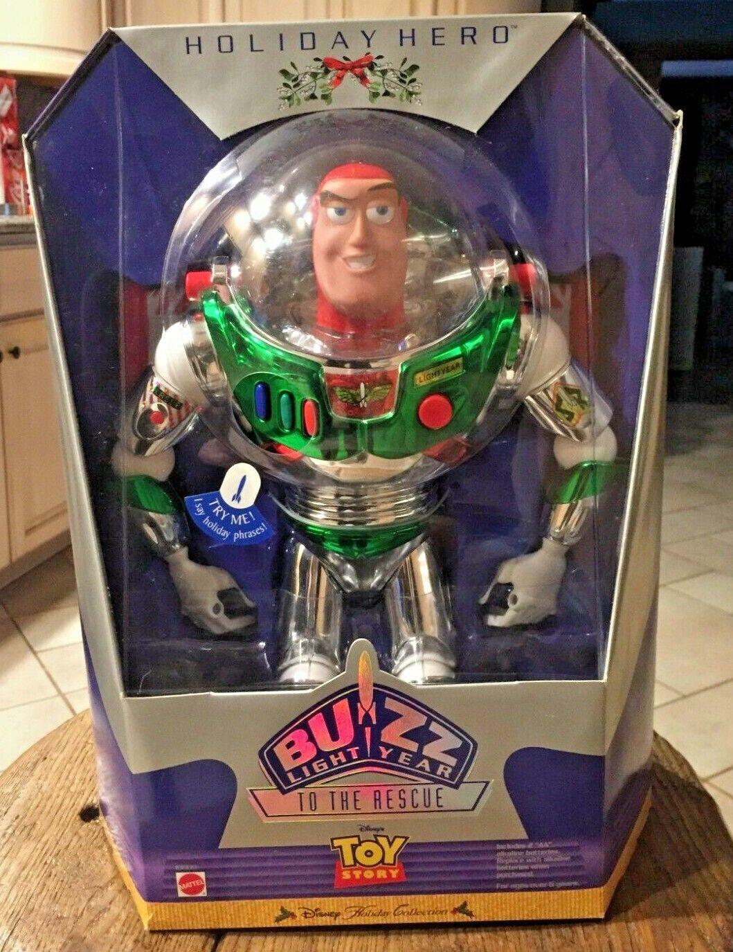 Toy Story Holiday Hero Buzz Lightyear