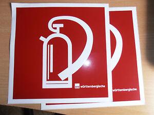 1 Feuerlöscher Schild selbstklebend 20x20 cm Brandschutztzeichen Symbol NEU - Hamburg, Deutschland - 1 Feuerlöscher Schild selbstklebend 20x20 cm Brandschutztzeichen Symbol NEU - Hamburg, Deutschland