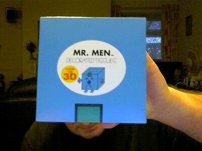 MR MEN MR GRUMPY DECORATED 3D BOX 60 TISSUES 210MM X 200MM PERFECT GIFT!