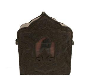 Old-Gau-Ghau-11-034-4-Budda-Soprammobile-Figurina-Travel-Shrine-Prayer-Box-1727-B7
