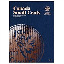 Whitman Coin Folder 4049 Canada Small Cents 1989-2012 Volume 2