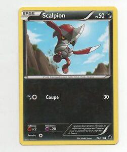 Pokemon-n-72-116-scalpion-pv50-A5673