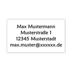 40-Adressetiketten-Adressaufkleber-oder-10-Visitenkarten-034-OHNE-MOTIV-034