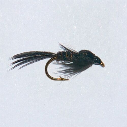 BLACK PHEASANT TAIL NYMPH Wet Trout Fishing Flies various options