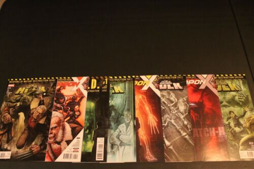 Weapons of Mutant Destruction Complete Weapon X 4 5 6 Hulk 19 21 22 22 Weapon H