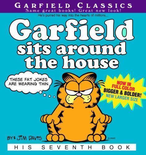 Garfield Sits Around the House (Garfield Classics)-ExLibrary