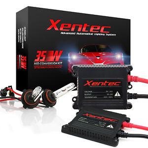 XENTEC XENON LIGHT 35W SLIM HID KIT 3K 3000K Golden Yellow 893 H11 H4 9145 H1