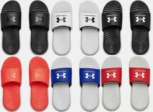 Under-Armour-Men-039-s-UA-Ansa-Fixed-Strap-Slides-Sandals-Many-Sizes-Many-Colors