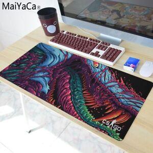 80*30cm Large Gaming Mouse Pad Hyper Beast for CS GO L XL Mat Grande AWP
