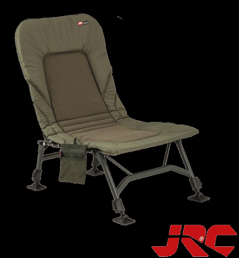 JRC Stealth Karpfenstuhl Chair 3.1 kg Belastbar bis 130 kg