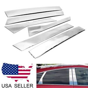 2011 2012 2013 CADILLAC SRX STAINLESS STEEL 8 PC BODY SIDE ACCENTS MOLDING SET