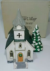 All-Saints-The-Original-Snow-Village-1986-Series-original-box-great-condition