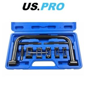US-PRO-Car-Van-Motorbike-9pc-Valve-Spring-Compressor-Bit-Set-Kit-5582