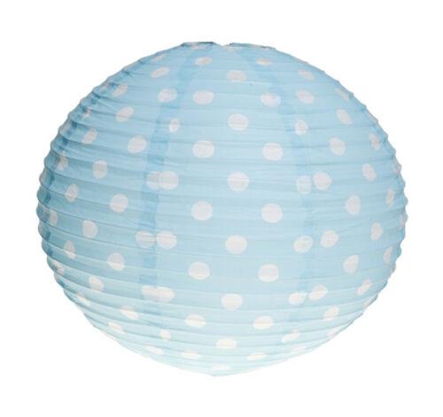 Cute Retro POLKA DOTS Paper Lampshade LAMPENSCHIRM Rockabilly