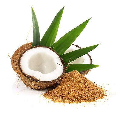1 kg Kokosblütenzucker - Kokos Süßen Zimt Karamel goldfarbener Zucker