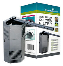 Aquarium Internal Corner Fish Tank Filter / Water Pump All Pond Solutions CIF